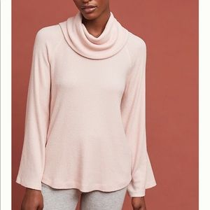 Maeve cowl neck long sleeve
